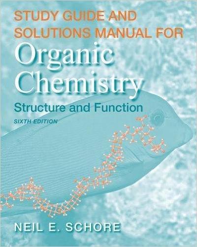 حل المسائل شیمی آلی ولهارد ویرایش ششم